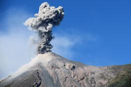 Fuego Volcano on the way to Pacaya. , Sandor B - November 2017