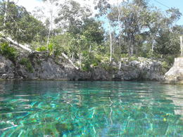 The cenote where we swam , lessien01 - December 2017