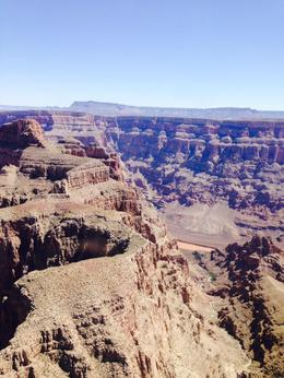 flying over the grand canyon , Eric L - August 2014