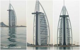 Photos of Burj Al Arab from the boat , Petru Rosenthorn - April 2015