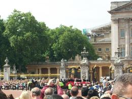Entrance to Buckingham Palace - August 2010