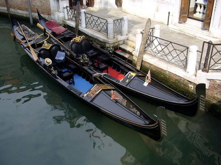 Gondola waiting for customers - Venice