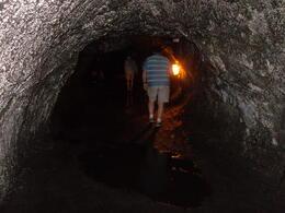 Inside Thurston lava tube, Big Island tour , PATRICIA C - June 2011