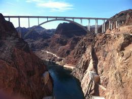 The new bridge at Hoover Dam , Teresa H - February 2012