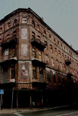 The abandoned area of Jewish district. - October 2008