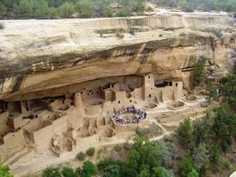 Cliff dwellings in Mesa Verde National Park -- some of the best-preserved cliff dwellings in the world , Leah - May 2011