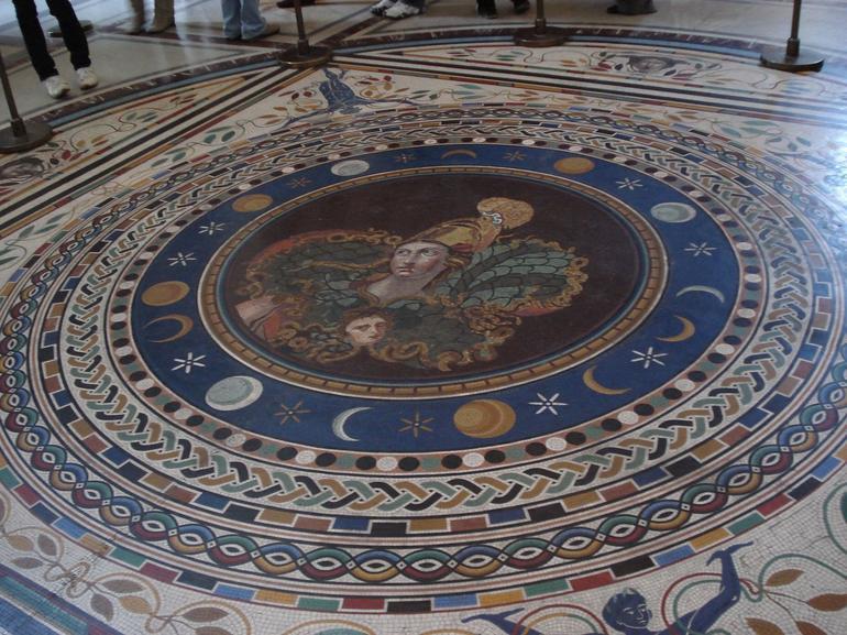 Mosaic floor - Rome