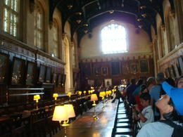 Oxford Dining Hall where They filmed some scenes from Harry Potter I and II , Brant G - July 2013