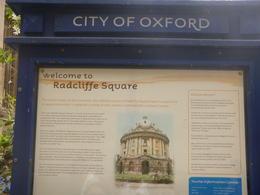 Radcliffe Square, Oxford , Vida V W - August 2014