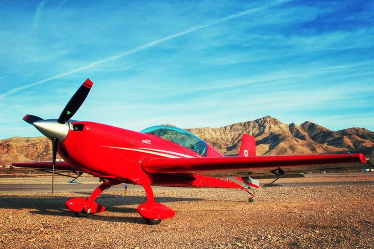 SCA plane - Las Vegas