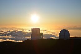 Sunset seen from the top of Mauna Kea. , David B - May 2015
