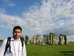At the Stonehenge. , Jamal K - May 2016
