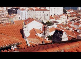 View across Alfama - late afternoon. March 2014 , Karen B - March 2014