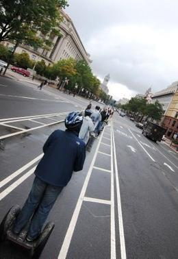 Segway-ers on our tour we booked through Viator. , Phillip D - October 2011