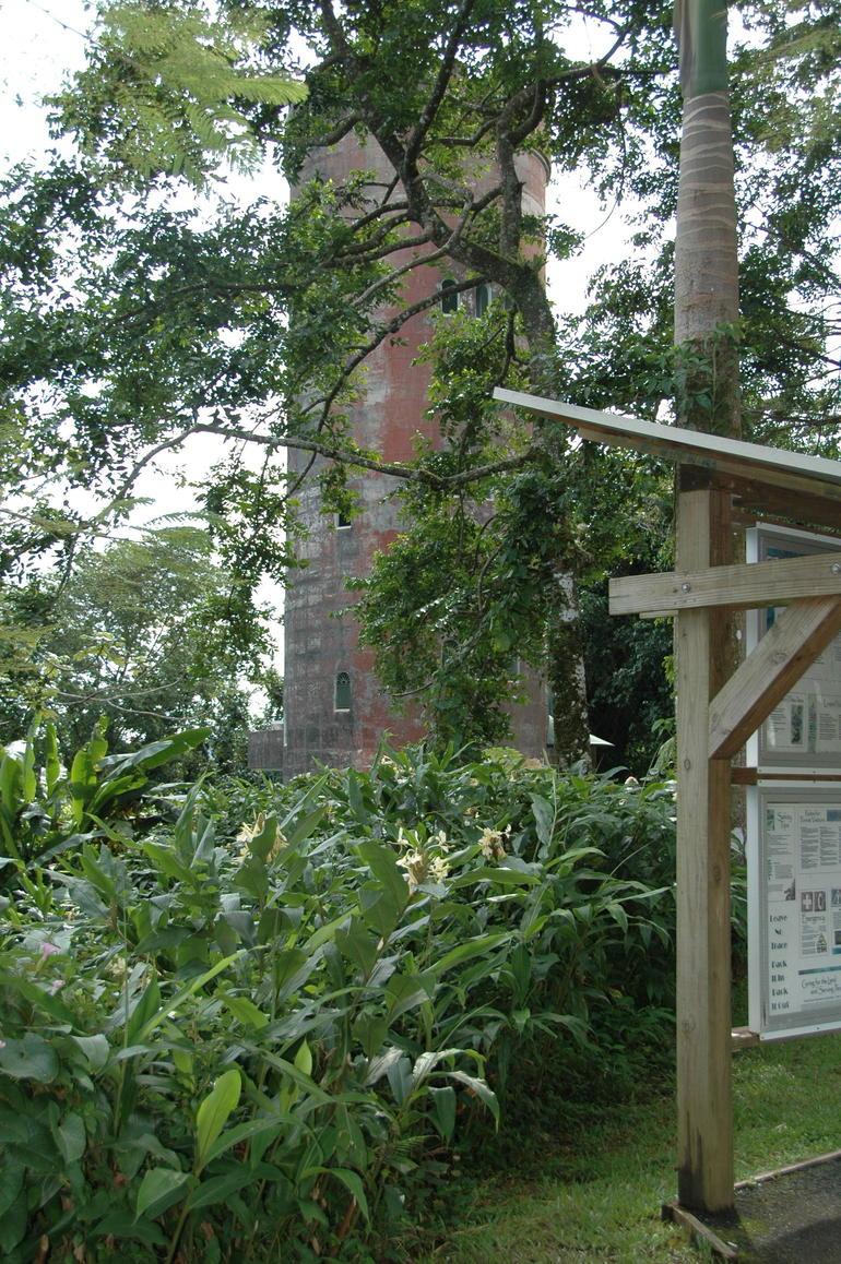 Yokahu Tower in the El Yungue Rainforest - San Juan