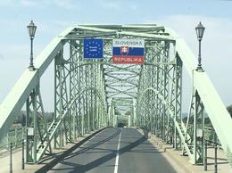 Over the Mária Valéria Bridge to Slovakia , Chris V - August 2017