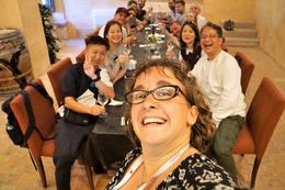 The tour guide Aurora was performing her amazing selfygroup photography , skyline2963 - October 2017