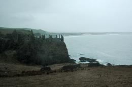 We stopped at this old, decaying castle to look at it from afar right before reaching the Giant's Causeway. , Alex Barnard - April 2011