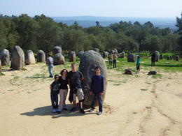 We had a wonderful fun filled day touring Evora, the Almendres Cromlech, and a fantastic little winery with our tour guide Patrick. Patrick was very knowledgeable and helpful. We managed to see a..., Andrea M - April 2014