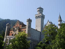This is the front view of the castle. , Kevin F - August 2013