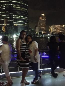 W/ my daughter had our pic together during our dinner cruise @ Chao Phraya , Dors - November 2016