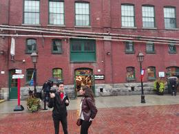 Dave the tour-guide on Mill St. - distillery District , Valentin M - September 2016