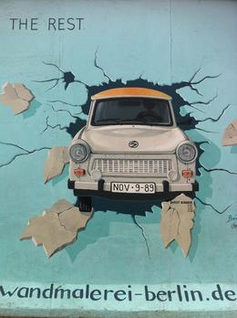 East Side Gallery, Berlin. Painted on Berlin Wall. , ingalill s - March 2011