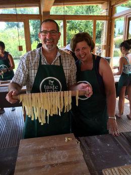 I had no idea making fresh pasta was so easy! , bstott - July 2015