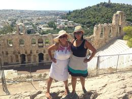 ATHENA'S TEMPLE A GODDESS WITH A VIEW , Yeymi F - September 2014