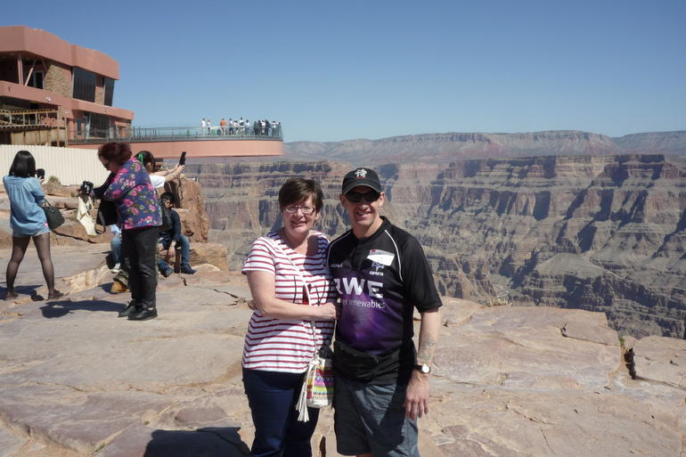Grand canyon skywalk Las Vegas. - Las Vegas