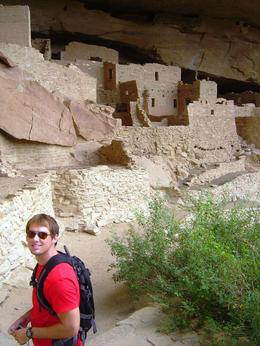 Inside Mesa Verde National Park , Leah - May 2011