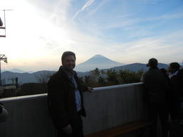 Me enjoying a beautiful view of Mt. Fuji , David P - November 2012