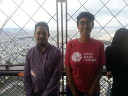 This is my viator guide for Eiffel tower - Ananya. She was brilliant and made the tour really enjoyable and educational. , yusufp - August 2014