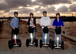 Overlooking the water on the San Diego Segway Tour. - December 2009