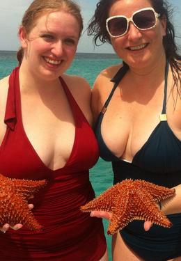 We found Starfish at the bottom of the ocean while snorkeling. , Ellen B - October 2013