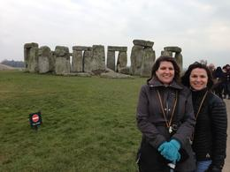 My sister and me at Stonehenge! , Lisa B - April 2013
