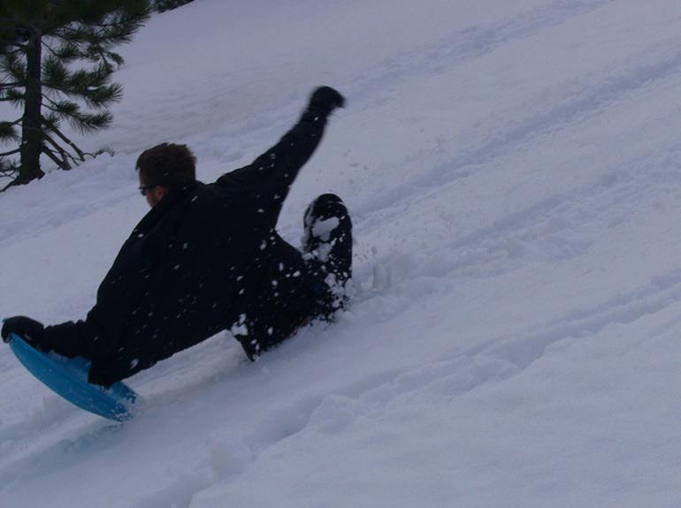 Tahoe Snow Dish - Lake Tahoe