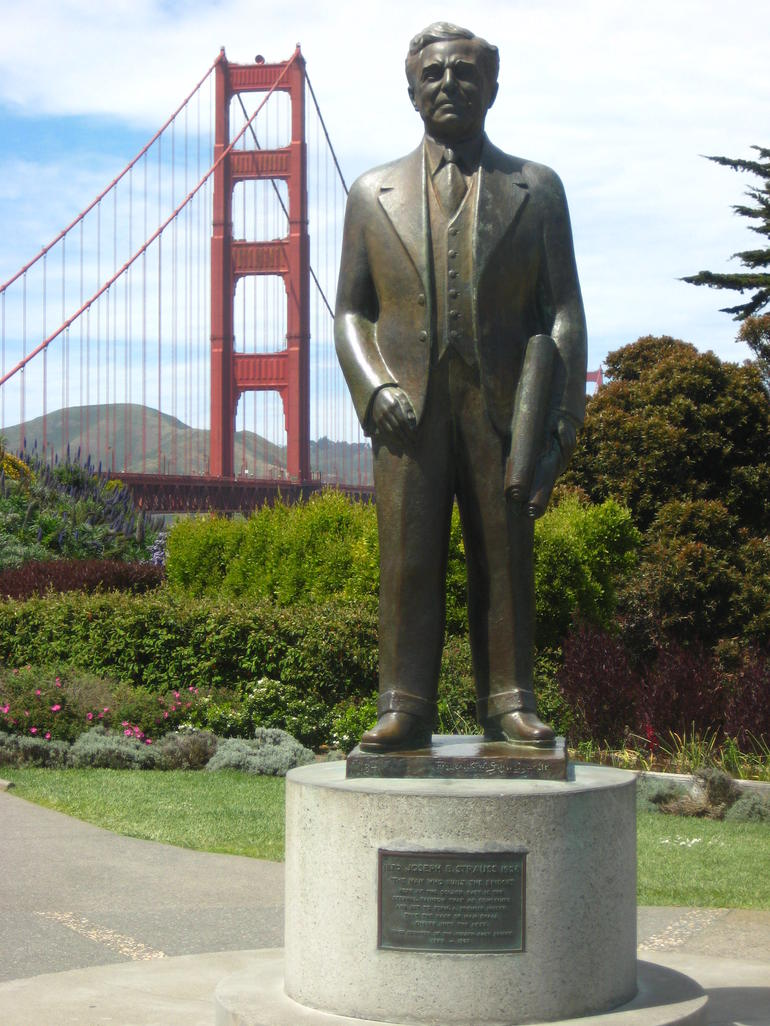 The Man Who Built The Bridge - San Francisco