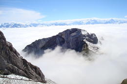The breathtaking view from the top of mount Pilatus . , May - October 2012