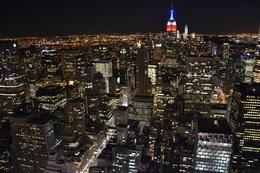 Indispensable. Allez-y en fin d'après midi et profitez des changement de lumière sur tout Manhattan. Belle surprise dans l'ascenseur qui nous y mène. , Marie-Hélène S - April 2013