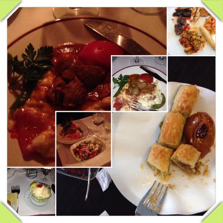 Turkish dinner - Istanbul