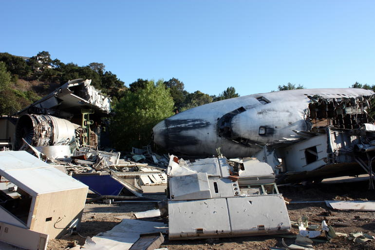 War of the Worlds set - Los Angeles