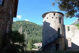 The medieval town , HONESTO A - April 2016