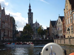Beautiful boat tour in Bruges , Jill D - December 2015