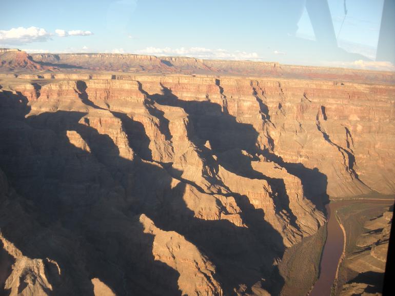Entering the Grand Canyon - Las Vegas