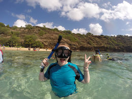 Half-Day snorkel fun - Hanauma Bay 2015 , Monica E - April 2015