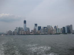 wonderful view of the new york skyline , Lori - September 2012