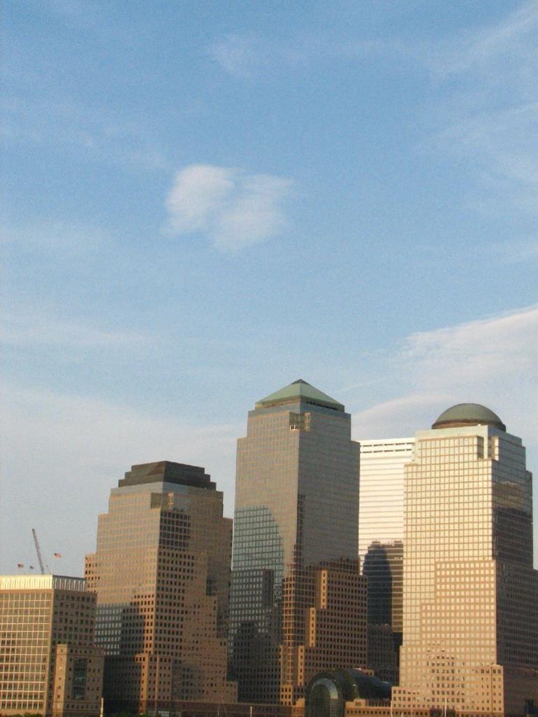 In front of 'Ground Zero' - New York City