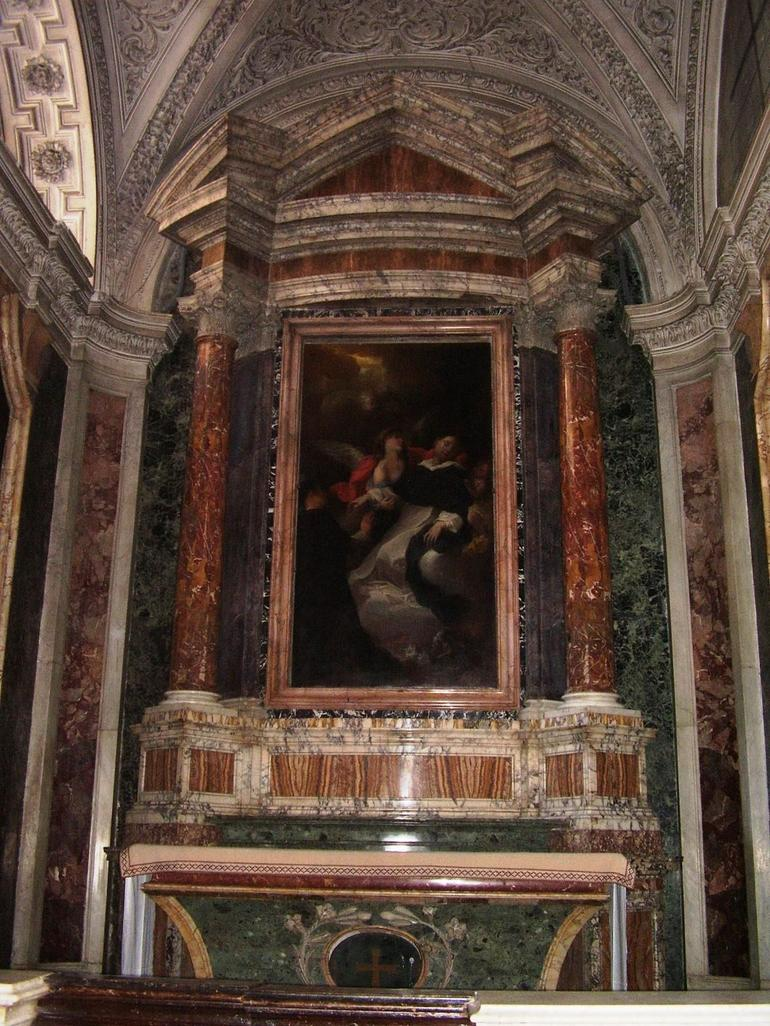 Inside Church of San Clemente - Rome