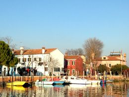 A snap of some of the houses as we departed from Burano. , Susan L - January 2016